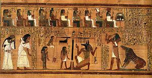 Egypt Egyptian vintage old  Cleopatra  Ancient Art poster  Print 100cm X 50cm