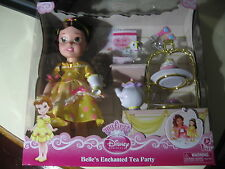 Disney Princess: Belle's Enchanted Tea Party (Brand New and Sealed) **RARE**