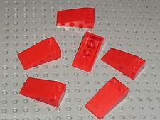 LEGO Star Wars Red Slope brick ref 30363 / sets 7665 4483 7676 4892 7906 8111 ..