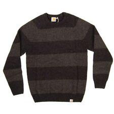 suéter nuevo Carhartt Wade suéter hombres lana Shetland de pequeño S rayada