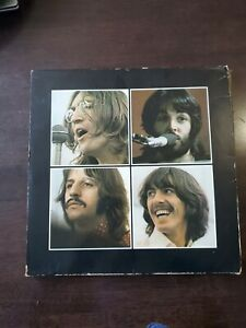 The Beatles Let It Be Box Set Vinyl Record With Booklet Rare 1970s