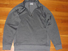 UNDER ARMOUR COLDGEAR 1/2 ZIP LONG SLEEVE GRAY GOLF PULLOVER MENS MEDIUM NICE