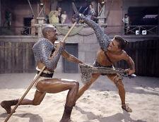 Kirk Douglas, Woody Strode - Spartacus  -  8 1/2 X11