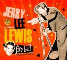 JERRY LEE LEWIS - FIREBALL: ESSENTIAL COLLECTION 2 CD POP ROCK'N'ROLL NEU
