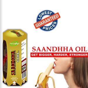 SAANDHHA OIL FOR MEN Premium Massage Oil - Longer Harder Stronger Herbs Blend