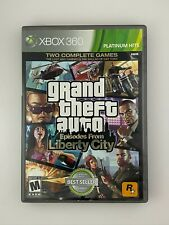 New listing Grand Theft Auto: Episodes From Liberty City - Xbox 360 Game - Complete & Tested