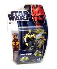 "Star Wars Clone Wars Savage Opress (Darth mauls hermano) 3.75"" Figura Juguete Raro"
