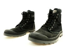 Palladium Unisex Pampa Solid Ranger Boot, Black Synthetic, 8.5 M US