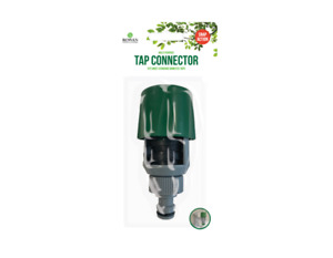 Snap Action Multi Purpose Tap Connector - Connect Graden Hose To Inside Tap