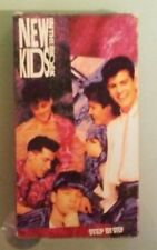 new kids on the block   STEP BY STEP   VHS VIDEOTAPE