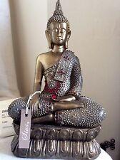 Divine Beautifully Detailed Buddhas Statue. Adorned In Swarovski Elements