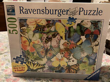 Ravensburger 500 PC. Butterflies Large Piece Format Jigsaw Puzzle Sealed