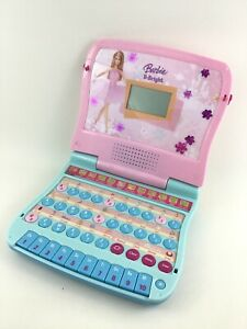 Barbie B-Bright Laptop Computer Mattel Working Learning Toy Learning Sound Play