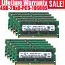 Samsung 4GB 8/16GB DDR3 2RX8 PC3-10600S 1333mhz 204pin SODIMM Laptop Memory LOT