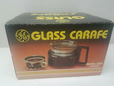 New NIB Vintage GE Glass Carafe Model 3355 Coffeemaker Spacemaker