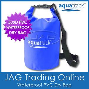 AQUATRACK WATERPROOF DRY BAG H/D 500D PVC- Storage Carry Floating 5L/10L/20L/25L