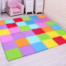Eva Soft Foam Interlocking Tiles Baby Play Mats Gym Yoga Exercise Kids Playmats