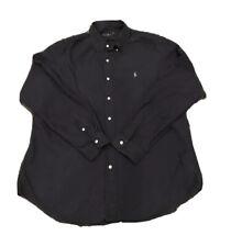 Polo Ralph Lauren Classic Fit Dress Shirt XL Blue Button Down Button Up Men's
