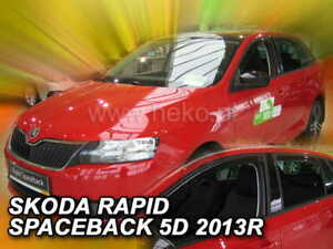 Skoda RAPID SPACEBACK  2013 -   5.doors  Wind deflectors 4.pc  HEKO 28341