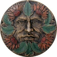 Green Man Summer Wall Plaque Hanging Home Decoration Greenman Pagan Celtic New