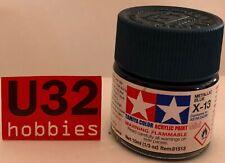 Tamiya Acrylic Mini X-13 Metallic Blue 10ml Paint 81513