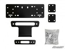 SuperATV Winch Mounting Plate for Honda Pioneer 500 (2015+)