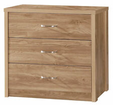 Unbranded Modern 60cm-80cm 3 Chests of Drawers