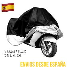 Funda Impermeable Protectora Cubre Moto Cosida Muy Resistente Talla S,M,L,XL,XXL