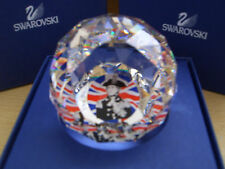 SWAROVSKI NELSON ADMIRAL LIMITED EDITION PAPERWEIGHT CRYSTAL  MIB