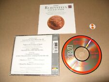 The Rubinstein Collection Saint Saens cd 1987 cd + Inlays Nr Mint + condition