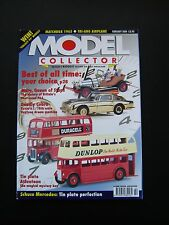 Model Collector Magazine - Feb 2000 Issue. Exoto, Tri-ang, Schuco, CAT