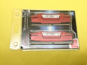 G.SKILL Ripjaws V 32GB (2x16GB) DDR4 2133MHz Memory F4-2133C15D-32GVR New