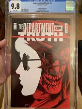 DEPARTMENT OF TRUTH 5 CGC 9.8 🔥 MARAT MYCHAELS VARIANT 🔥 LTD TO ONLY 600 L@@K!