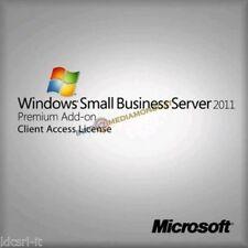Licenza Windows Small Business Server 2011 Premium Edition 64bit 2YG-00384 5 CLT