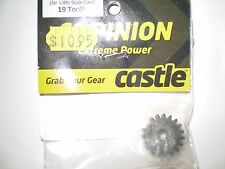 CASTLE CREATIONS 010-0065-11 MOD-1 PINION 19 TOOTH FOR 1/8 SCALE CARS NEW NIP