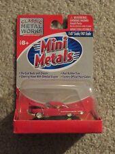 Classic Metal Works Mini Metals 57 1957 Chrysler 300C Red 1:87 HO MOC 2000
