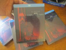 CARLITO'S WAY BLU RAY STEELBOOK EDITION AL PACINO SEAN PENN NEW FACTORY SEALED