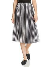 NWT Eileen Fisher 2X Ombre Pleated Recyled Polyester Skirt $268