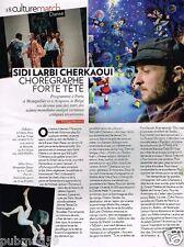 Coupure de Presse Clipping 2012 (1 page) Sidi Larbi Cherkaoui chorégraphe