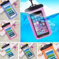 Waterproof Phone Case Underwater Pouch Dry Bag Cover for iPhone Android Phone