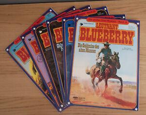 Leutnant Blueberry - Band 18+21+23+26+29+31 - Verlag: Delta - Softcover