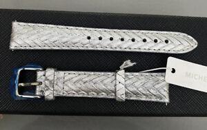 NWT Michele Metallic 16mm watch band $100.00