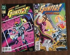 Gunfire Mayhem Over Manhattan! #4 & #9 -1994 - 2 DC Comics LOT. Wein &  Erwin
