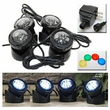 JEBAO SUBMERSIBLE LED LIGHT KIT FOR  POND UNDERWATER FOUNTAIN WATER GARDEN