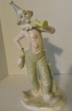 "Paul Sebastian Designs Porcelain 12"" Tall Clown Figurine - Limited Edition"