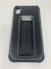 Scooch Wingman 5in1 Case for Apple iPhone XR Kickstand Ergonomic Grip Black