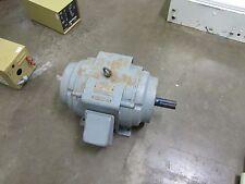 DELCO 1U1550--Z 286T 15HP 15 HP 1120 RPM 230/460 3PH ELECTRIC MOTOR REBUILT