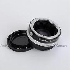 Zhongyi Lens Turbo II Focal Reducer Booster Adapter Nikon F AI to Micro 4/3 M43