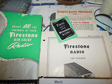 1947 Operating Instructions and Service Manual for Firestone Air Chief 4-B-31