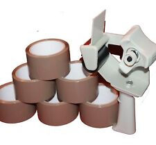 12 x Rollen 1x Abroller Paketband Packetband Klebeband Packband Band Kleber (2)